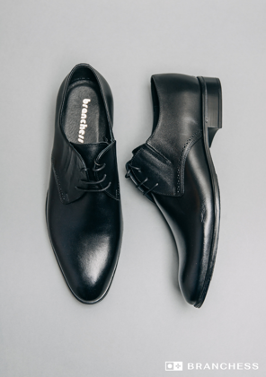 Leather shoes - black