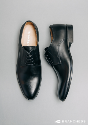 Leather shoes -black